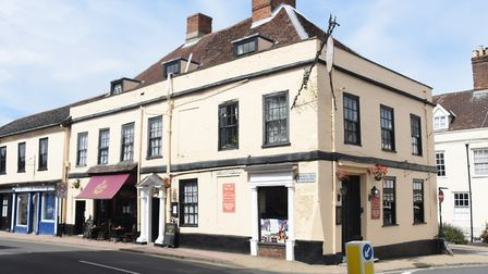 The Three Tuns at Bungay is home to many ghosts. Picture: DENISE BRADLEY