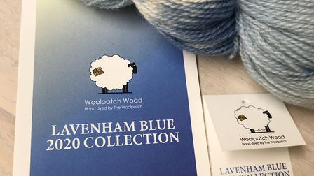 Lavenham Blue, The Woolpatch's own yarn collection Picture: Áine McGovern