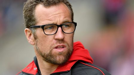Crewe Alexandra boss David Artell is relishing the test of playing Ipswich Town today Picture: PA SP