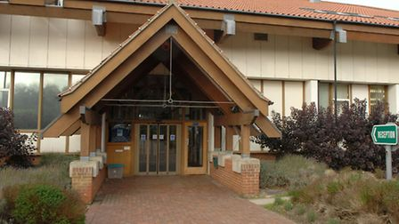 Library picture of North Norfolk District Council's headquarters on Holt Road, Cromer.