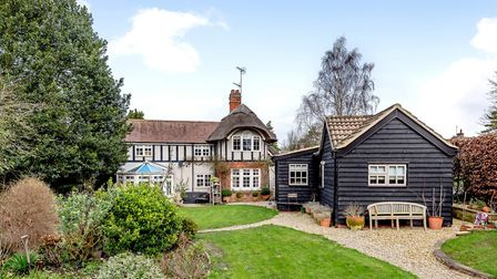 The Lodge in Burstall is for sale for offers over £600,000. Picture: Carter Jonas