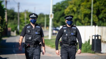 Suffolk is getting an additional 54 officers from the Government's Operation Uplift announcement in October 2019. Picture:...
