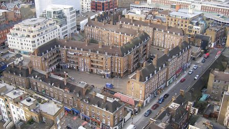 East End jam-packed wirth housing... but how many homes stay empty? Picture: LBTH