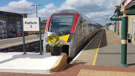 There will be no trains between Lowestoft and Saxmundham for nine days. Picture: PAUL GEATER