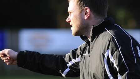 Leiston manager, Chris Wigger, who believes that Barnet's spate of Covid-19 positive player tests mi