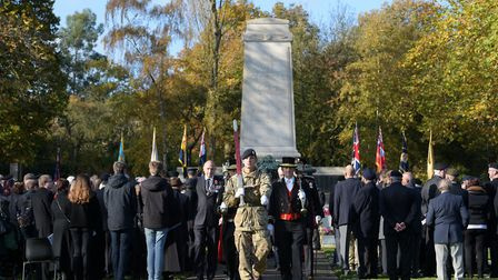 Normal Remembrance parades cannnot happen this year. Picture: SARAH LUCY BROWN