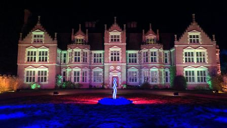 Haughley Park will once again be illuminated by its Spectacle of Light show which returns in Februar