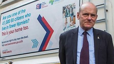 Tower Hamlets mayor John Biggs surrendered many of his executive powers. Picture: LDRS