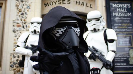 Feel the Force at the 12thSci-fi and Action Exhibition at Moyses Hall Museum which celebrates 40 yea