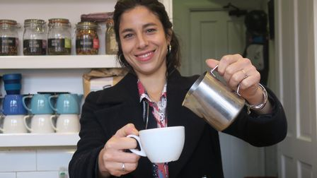 """Anabelle Boissonnet runs Paper and Cup not-for-profit coffee shop supporting the homless... """"People"""