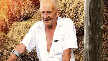 Mr Cole, 80, was known for his role in the local church and for playing for Peasenhall United Pictu