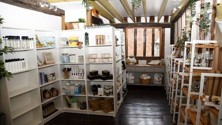Charlotte Springett said: We are excited to be launching our little shop in beautiful Lavenham. Pic