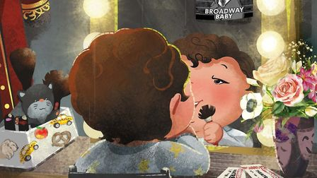 Russell Miller's children's book Broadway Baby introduces youngsters to the joys of live theatre Ph