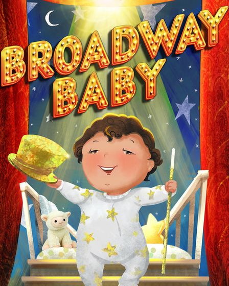 The cover of theatrical producer Russell Miller's children's book Broadway Baby Photo: Yoko Matsuok