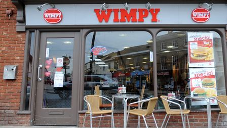 There are several Wimpy restaurants in the region, including Felixstowe, King's Lynn, Colchester and Peterborough. Stock...