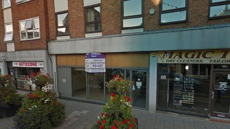 The empty unit in Haverhill High Street is set to become a Wimpy restaurant after being granted planning permission by...