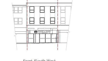 The Haverhill High Street premises will be completely refurbished before opening as a Wimpy restaurant. Picture: SPENCER...