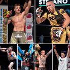 The region's top MMA prospects, clockwise, from top left: Leigh Mitchell, Stefano Catacoli, Nik Bagley, Jimmy Fell...