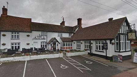 The landlords of The Compasses pub in Holbrook are leaving after four years in the village. Picture: GOOGLE MAPS