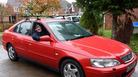 Mr Smith has since been able to fix his car Picture: CHARLOTTE BOND