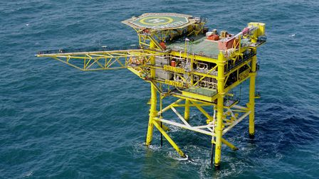 A gas platform in the southern North Sea. There will be job losses as the oil and gas sector contrac