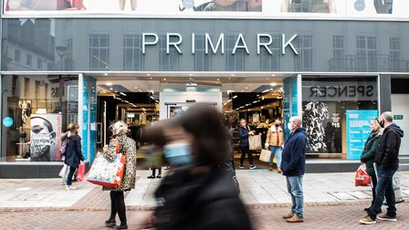 Primark and other high street stores, including many independent businesses, will close from Thursday Picture: SARAH LUCY...