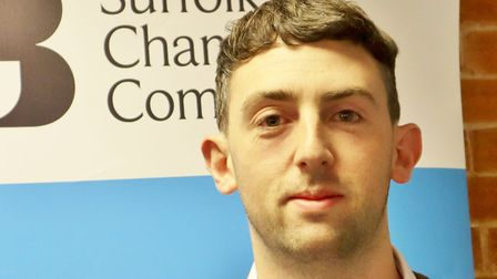 Andy Walker, head of policy and research at Suffolk Chamber of Commerce. Picture: SUFFOLK CHAMBERS