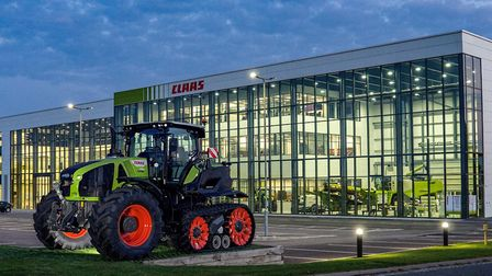 The front of CLAAS UK's new headquarters Picture: CLAAS