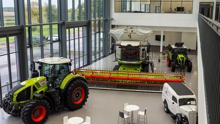 Inside CLAAS UK's new headquarters Picture: CLAAS