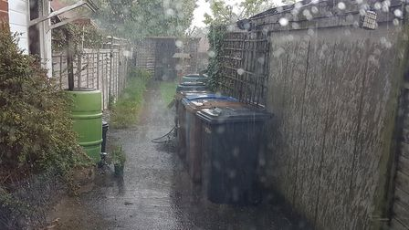 Britain had its wettest day ever this month - but Suffolk avoided the worst of the deluge. Picture: PAUL GEATER