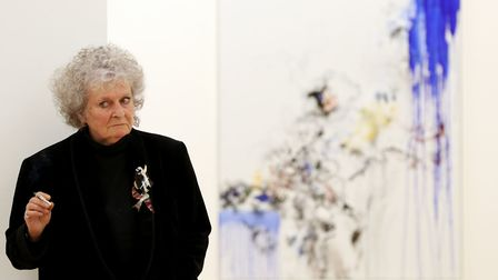Ms Hambling was educated at Amberfield School and the Ipswich School of Art Picture: JONATHAN BRADY