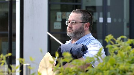 Peter Thompson outside Ipswich Crown Court last year Picture: ARCHANT
