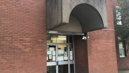 Lewis Wilden was sentenced at Suffolk Magistrates' Court in Ipswich Picture: ARCHANT