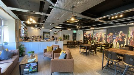 The new cafe replaces the centre's former bar following customer feedback and a number of grants Pic