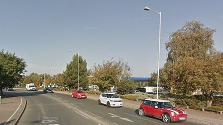 A woman has been arrested on suspicion of drink driving following a crash near to Tesco in Martlesha