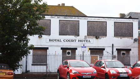 Plans to turn the old Royal Court Hotel in Lowestoft into flats have been pushed back. Picture: MICK