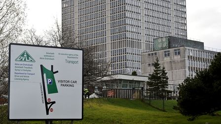 The DVLA in Swansea Picture: PA IMAGES