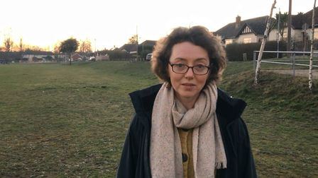 Ipswich councillor Sarah Barber said the government funds will help cover costs Picture: ANDREW HIRST