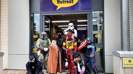 Geek Retreat's Chelmsford store - the chain is looking to expand throughout the UK including in Suf