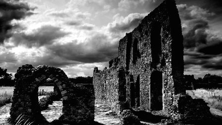 The ruins of Greyfriars are one of Dunwich's few ancient buildings left - with the majority now lost