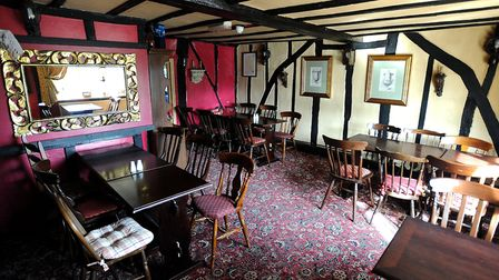 The Four Horseshoes in Thornham Magna is home to a number of ghosts - and even a mummified cat in it