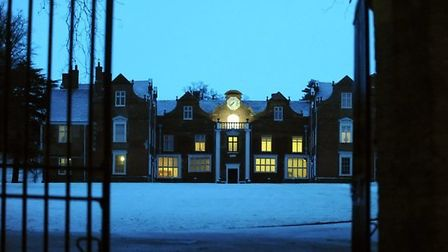 Christchurch Mansion, pictured here in winter Picture: Andy Abbott