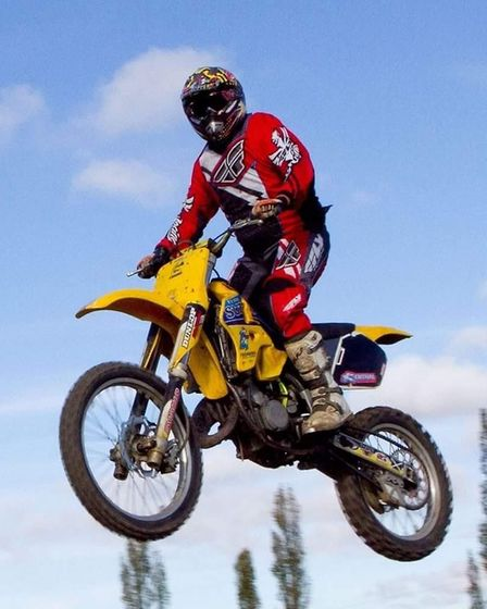Luke Hearn from Bury St Edmunds is passionate about motorcycles. Picture: HEARN FAMILY