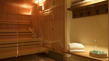 The sauna at Weavers' House Spa Picture: Weavers' House Spa