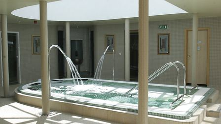 Ufford Park's Thermal Suite is now reopen Picture: Paul Nixon