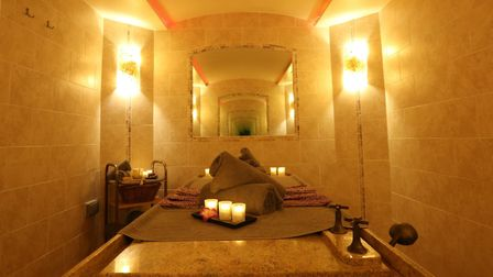 Inside the Hammam at Peake Spa Picture: Stoke by Nayland Hotel