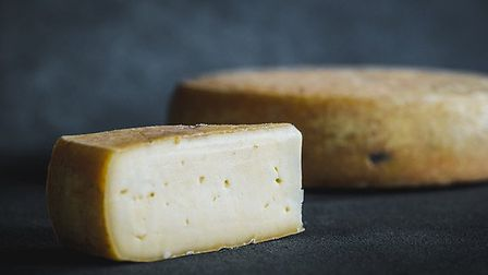 St Helena has a firm rind, with a softer centre Picture: Simon Buck