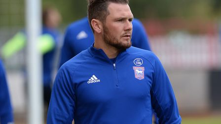 James Norwood is back in training. Picture Pagepix Ltd