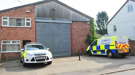 Police have raided a Cannabis factory in Bungay.