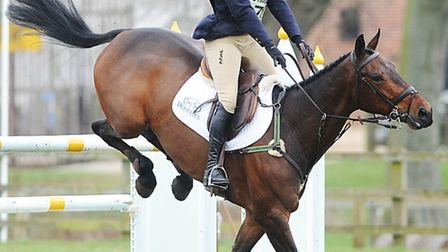 Piggy French on Wutella competing at the Burnham Market International Horse Trials in 2012. Picture: